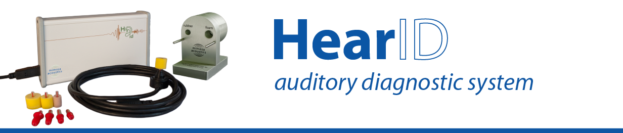 HearID hearing screening and diagnostic device